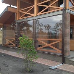 Мягкие окна для Террас (мягкое стекло)